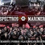 JP Espectros enfrenta o Recife Mariners no maior clássico do Nordeste de Futebol Americano